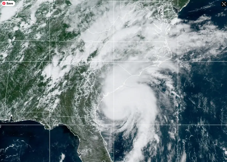Hurricane Isaias pounds eastern seaboard