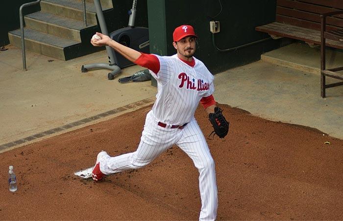 Phillies pitcher Zach Eflin