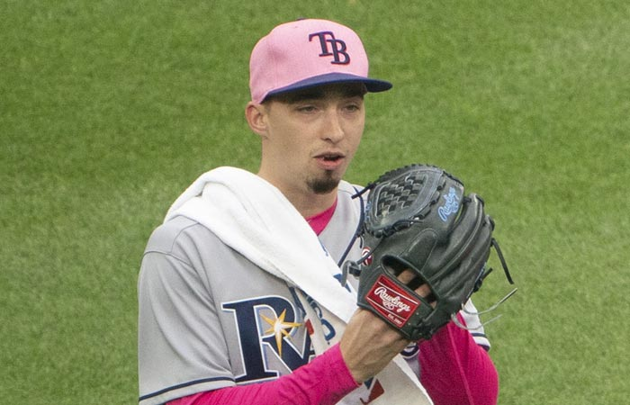 Tampa Rays pitcher Blake Snell