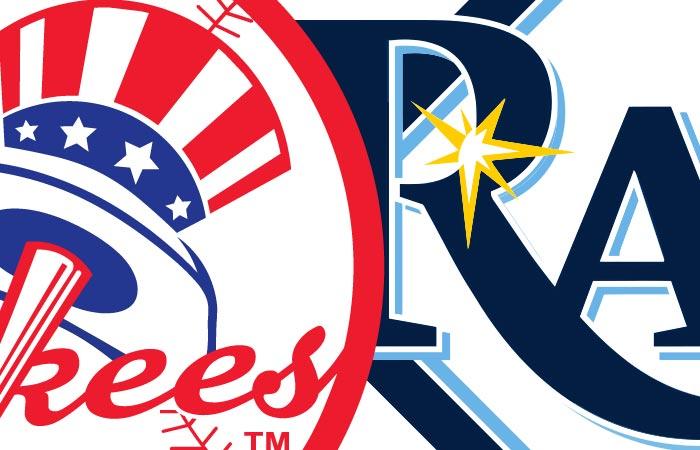 Yankees at Tampa Rays