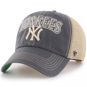 yankees 47 tuscaloosa clean up truckers cap