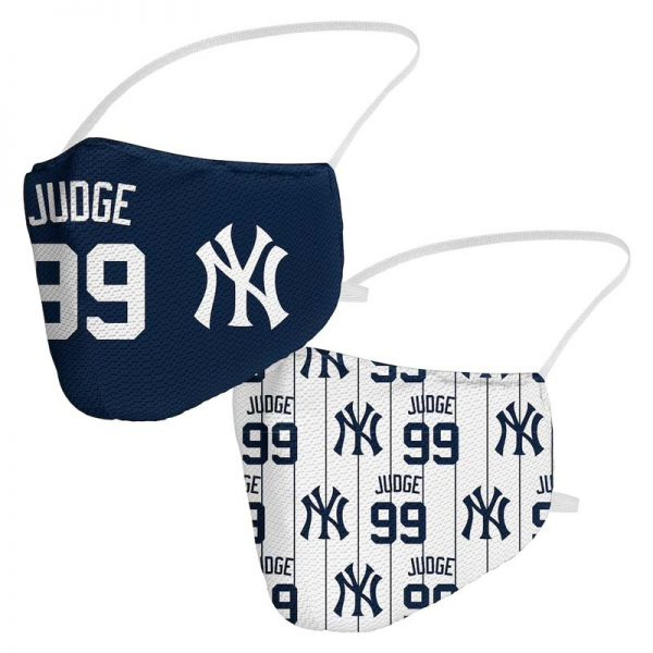 aaron judge yankees branded covid-19 face masks