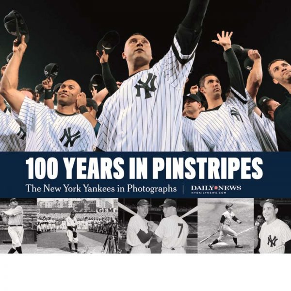 New York Yankees books 100 Years in Pinstripes at Moiderers Row Shop