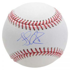 luke voit signed baseball