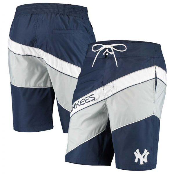 New York Yankees mens swim trunks