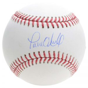 Paul O'Neill signed baseball New York Yankees Moiderers Row Shop