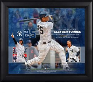 gleyber torres walkoff HR commemorative plaque