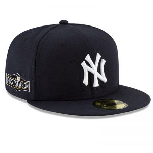 yankees 2020 post season fitted baseball cap