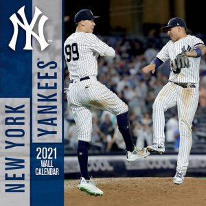 new york yankees 2021 calendar
