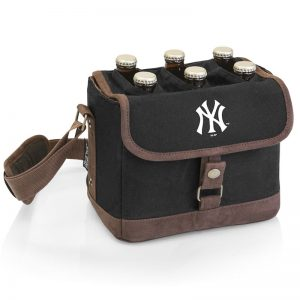 yankees beer cooler tote