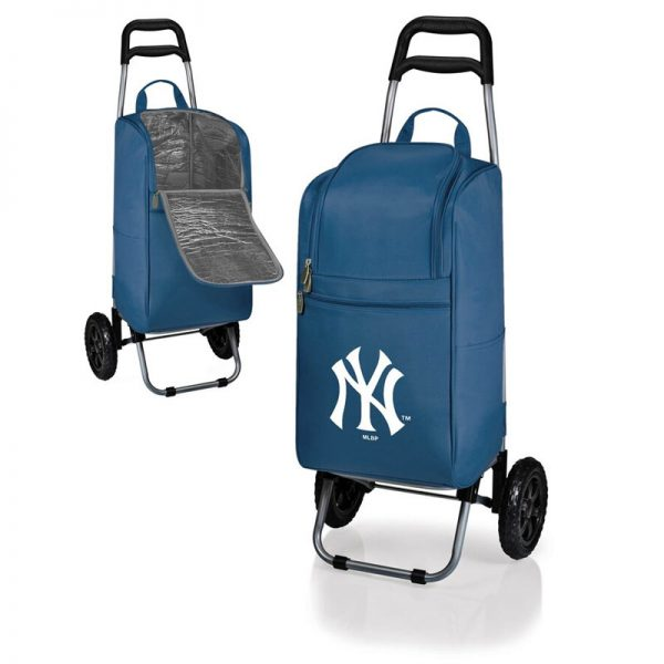 yankees cooler cart on wheels
