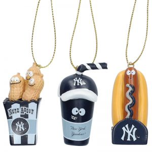 yankees snack pack christmas tree ornaments