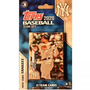 yankees 2020 team baseball card set from topps