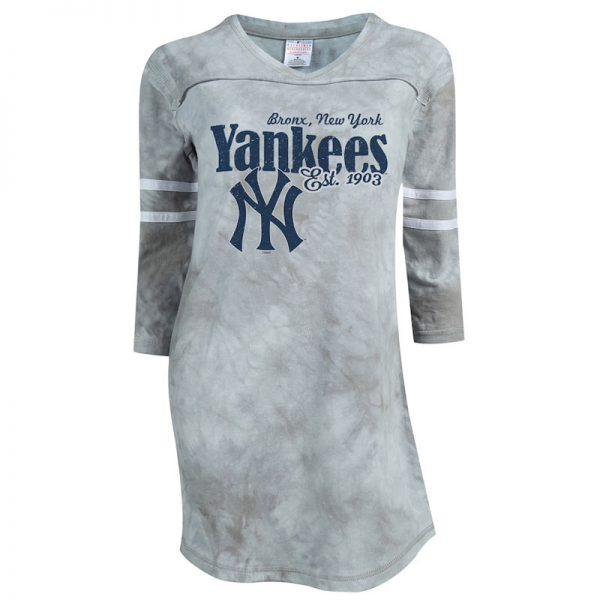new york yankees womens nightshirt