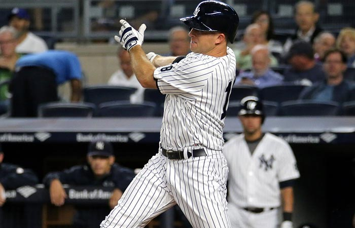 new york yankees centerfielder Brett Gardner