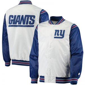 new york giants throwback varsity jacket