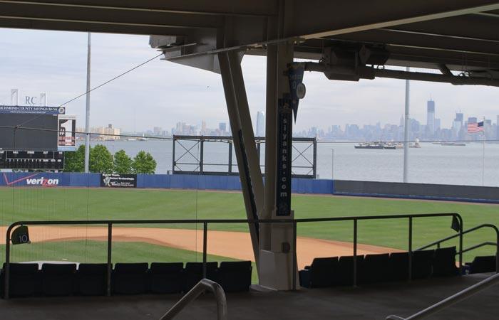 Richmond Community Bank Ballpark in Staten Island, New York
