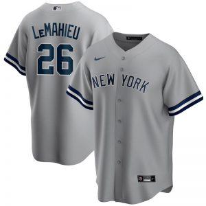 Yankees DJ LeMahieu 2020 road gray jersey