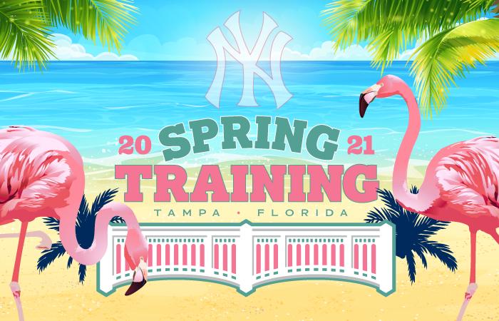 new york yankees 2021 spring training schedule