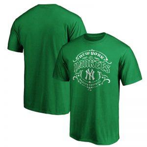 new york yankees st. patrick's day t-shirt for men