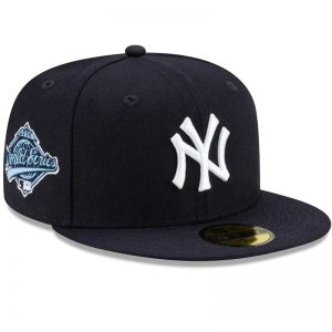 1996 Yankees World Series Cap - side view