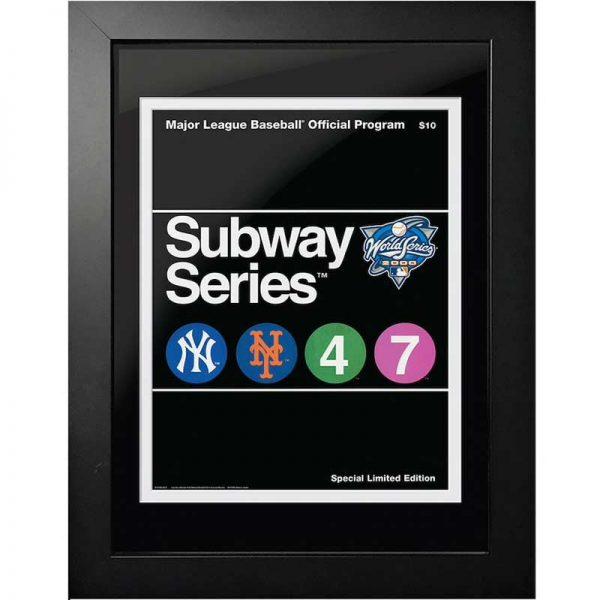 yankees 2000 world series program cover