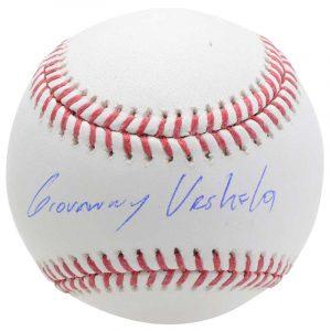 yankees gio urshela signed autographed baseball